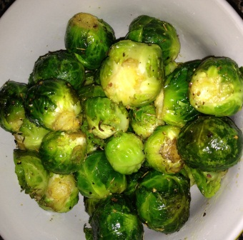 Brussels Sprouts, Hemp Oil, and Thyme, Oh My! – Perhaps a Creative Thanksgiving Alternative?