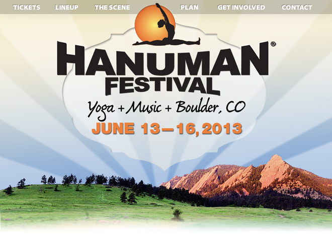 Hanu-what?! Jai Hanuman Festival! :) Sarah Goes Yogini On Ya! ;)