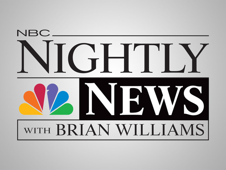 Sarah Plummer on NBC Nightly News with Brian Williams