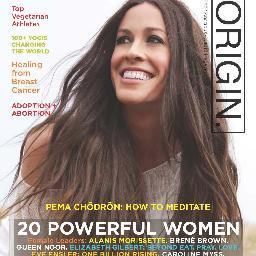Origin Magazine – May 2013 – Sarah Featured as a Yogic Leader